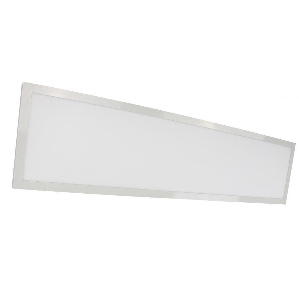 "45 Watt 12"" x 48"" Surface Mount LED Fixture 5000K 80 CRI Low Profile White Finish 120/277 Volts Ceiling Nuvo Lighting"