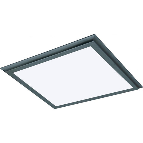 "45W 24""x24"" Surface Mount LED Fixture - 3K - Bronze - 120-277V"