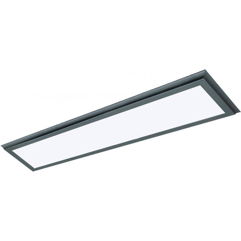 "45W 12""x48"" Surface Mount LED Fixture - 3K - Bronze - 120-277V"