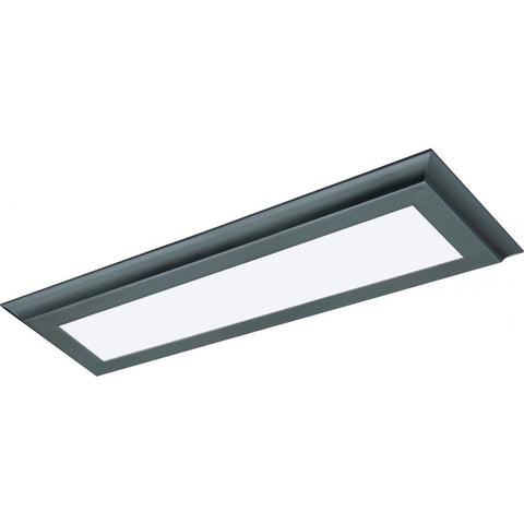 "22W 5""x24"" Surface Mount LED Fixture - 3K - Bronze - 120-277V"