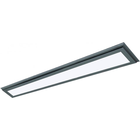 "40W 5""x48"" Surface Mount LED Fixture - 3K - Bronze - 120-277V"