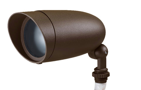 LED Landscape Flood 6W; Bronze; 3000K
