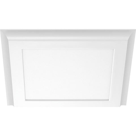 "12"" X 12"" Surface LED Fixture - White 100-277V"