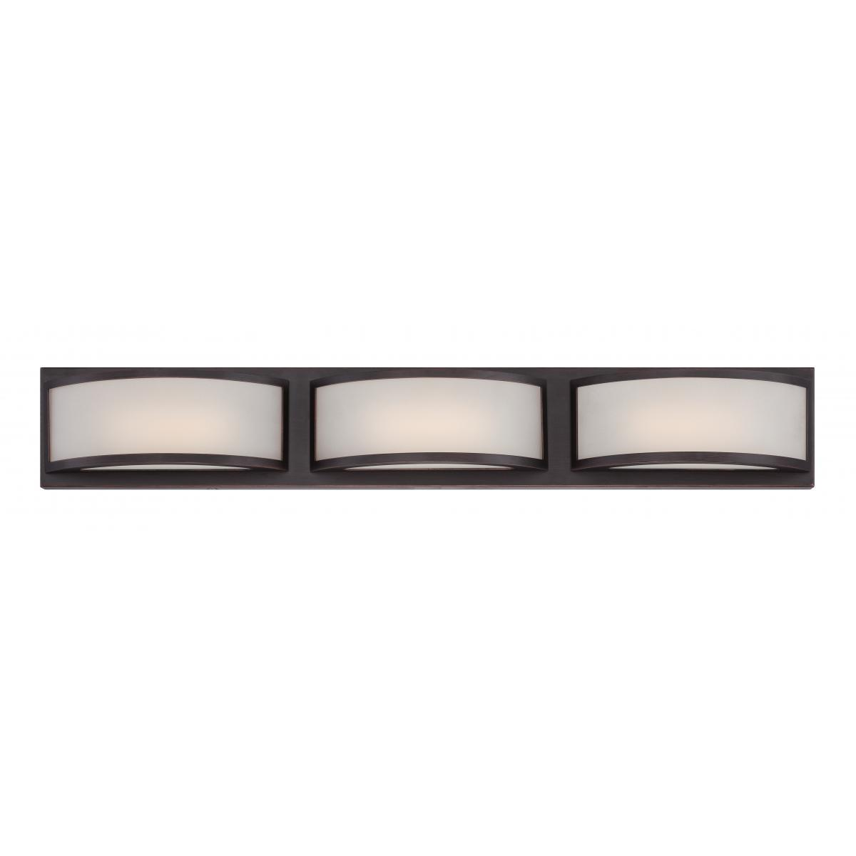 Mercer (3) LED Wall Sconce Wall Nuvo Lighting
