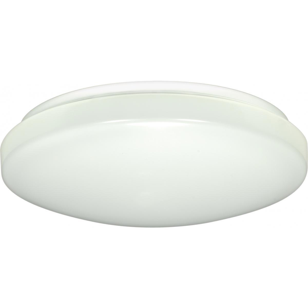 "11"" Flush Mounted LED Light Fixture White Finish 120-277 Volts Ceiling Nuvo Lighting"