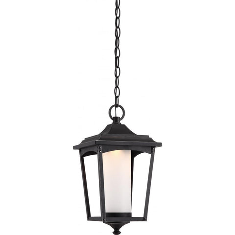 Nuvo Lighting Essex Hanging Lantern Sterling Black Finish 62/824