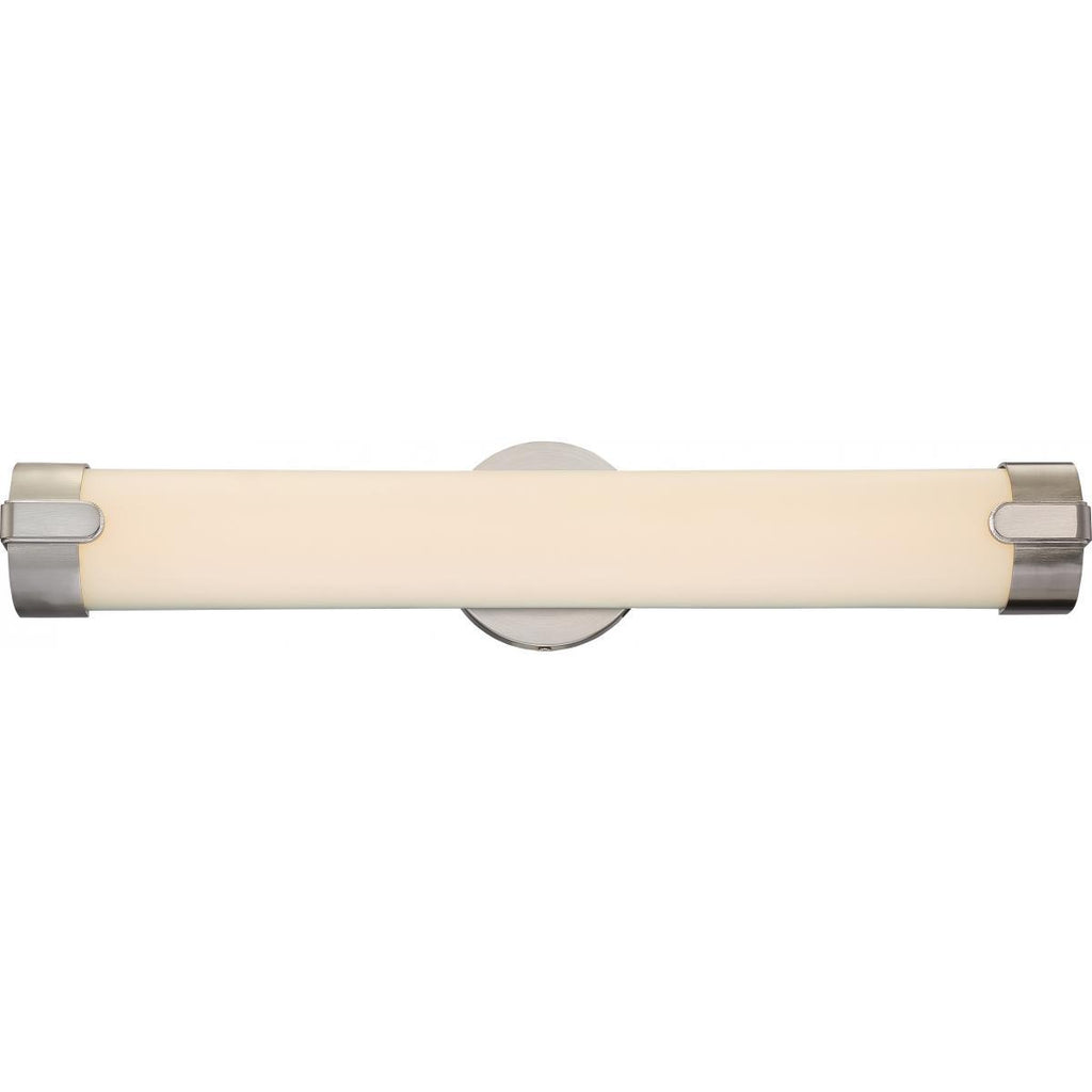 Loop Double LED Wall Sconce Brushed Nickel Finish Wall Nuvo Lighting