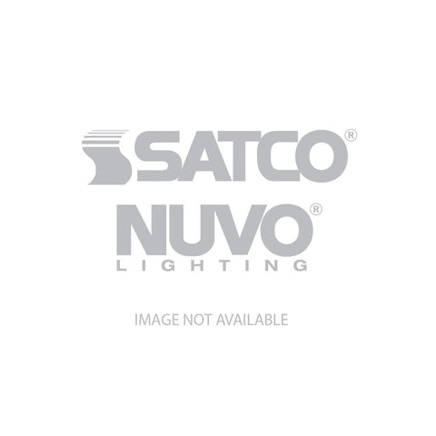 "Nuvo Lighting 15"" Filigree LED Decor Flush Mount Fixture Polished Nickel Finish White Fabric Shade 62/988"