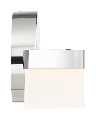 Bow Dimmable LED Wall Sconce - Chrome (CH)