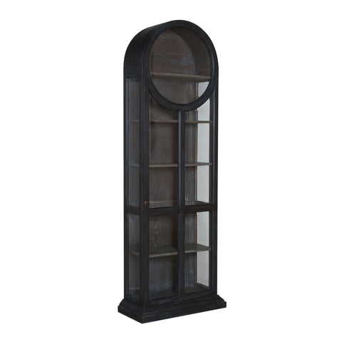 ROUND TOP DISPLAY CABINET Furniture GuildMaster