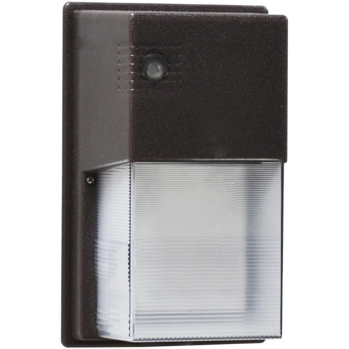 LED Entrance Light 13 Watt Bronze Finish 120V Photocell Outdoor Nuvo Lighting