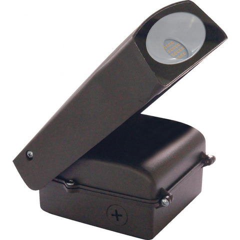 Nuvo Lighting LED Adjustable Wall Pack 20 Watts Bronze Finish Photocell Included 5000K 1800 Lumens 65/102