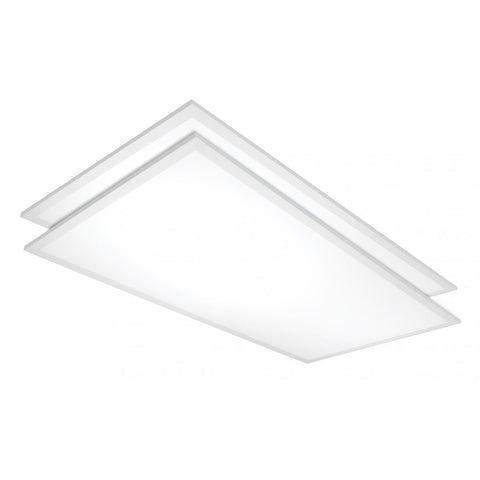 2x4 LED Flat Panel Lay-In Fixture 50W Ceiling Nuvo Lighting 3500K