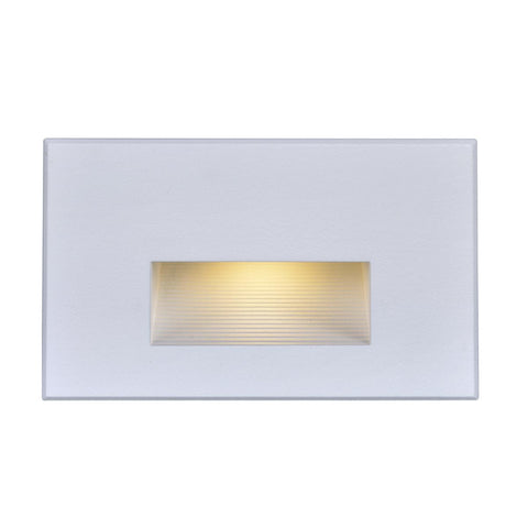 Nuvo Lighting LED Horizontal Step Light 5 Watt White Finish 120 Volts 65/407