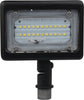 LED Small Flood Light; 15W; 3000K, Bronze