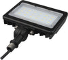LED Medium Flood Light; 30W; 3000K, Bronze