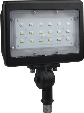 LED Medium Flood Light; 30W; 5000K, Bronze