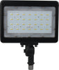 LED Large Flood Light; 50W; 3000K, Bronze