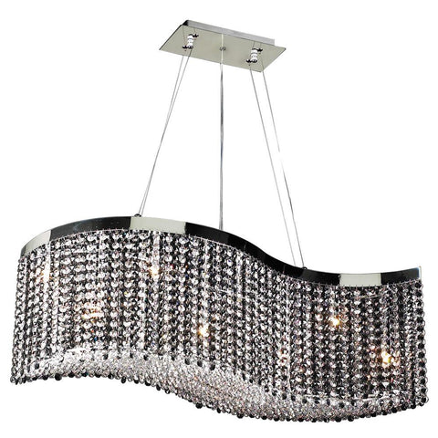 "Clavius - I 36""w Crystal Chandelier"