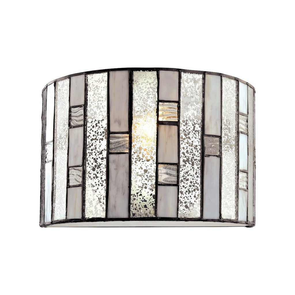 Ethan 1 Light Wall Sconce In Tiffany Bronze Wall Sconce Elk Lighting