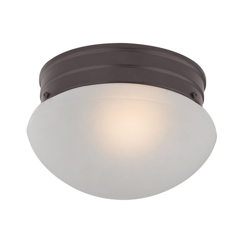 1-Light Mushroom in Oil Rubbed Bronze  Thomas Lighting