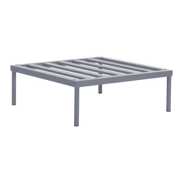 Sand Beach Single Base Gray Outdoor Zuo