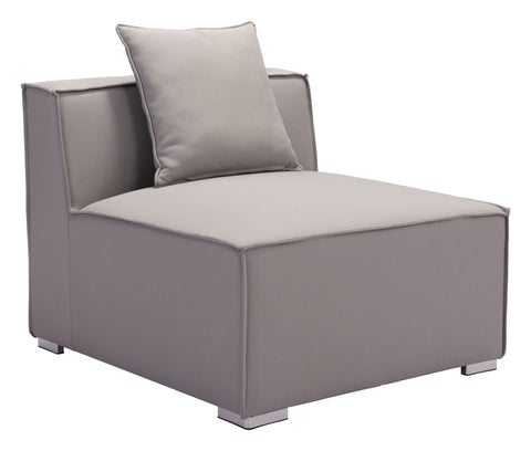 Zuo Fiji Middle Chair Gray