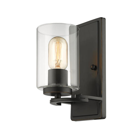 Monroe Black Wall Sconce