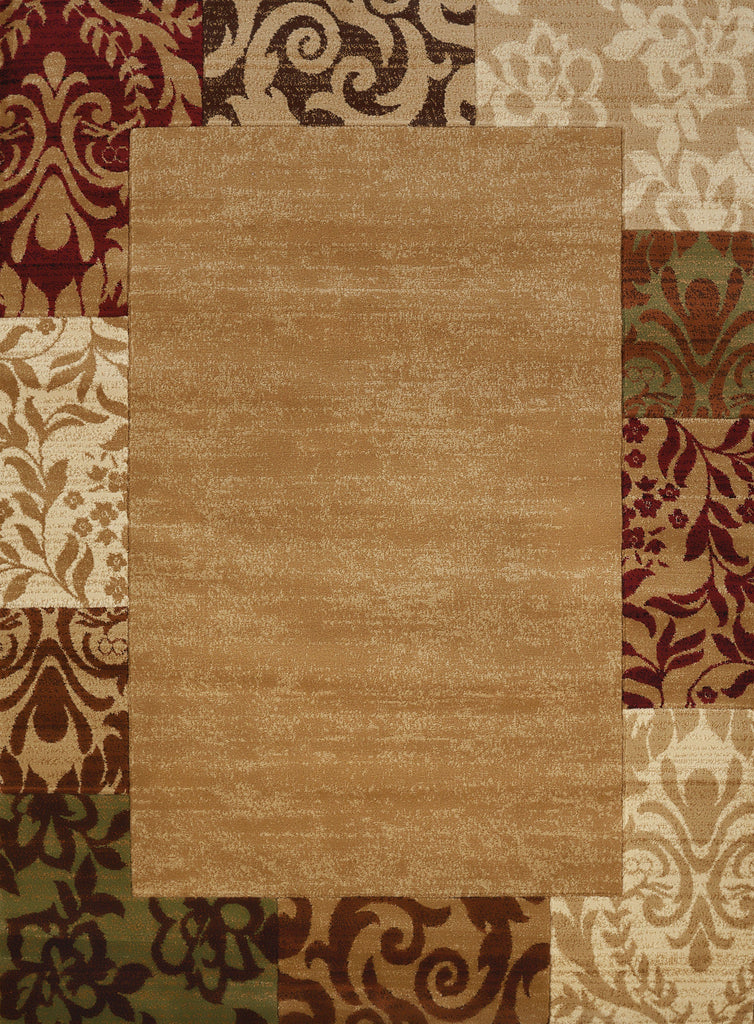 "Studio Valence Beige Accent Rug (4 Sizes) Rugs United Weavers 1'10"" x 3' Mat"