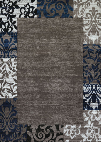 "Studio Valence Denim Blue Accent Rug (4 Sizes) Rugs United Weavers 1'10"" x 3' Mat"