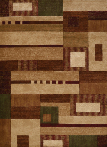 "United Weavers Studio Percussion Beige Accent Rug 1'10"" X 3'"