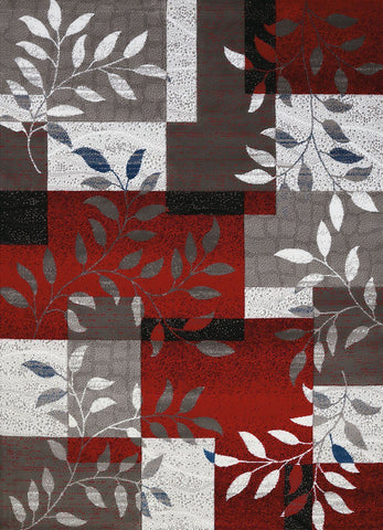 "United Weavers Studio Sapphire Scarlet Accent Rug 1'10"" X 3'"