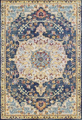 Abigail Aviana Blue Rug - 6 Sizes Available