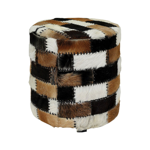 Patchwork Ottoman Seating ELK Home