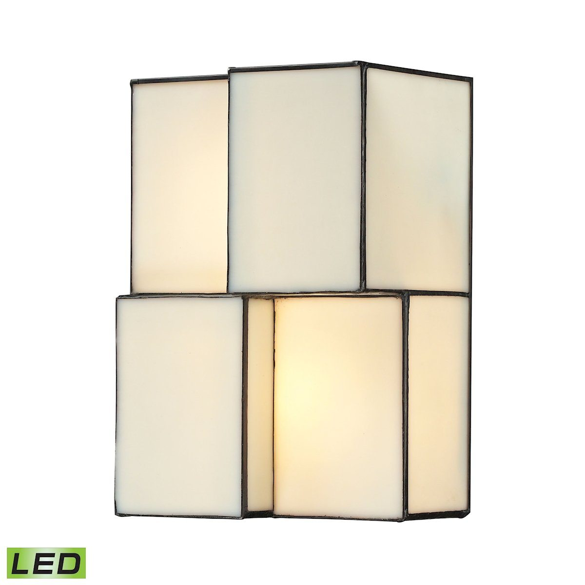 Cubist 2 Light LED Wall Sconce In Brushed Nickel Wall Sconce Elk Lighting