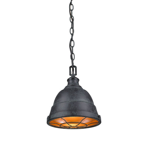Bartlett Mini Pendant in Black Patina