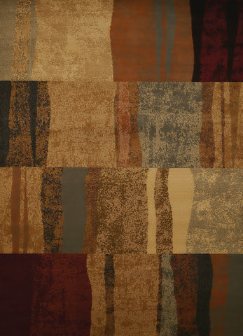 "Affinity Shadows Brown Oversize Rug 7'10"" x 10'6"" Rugs United Weavers"