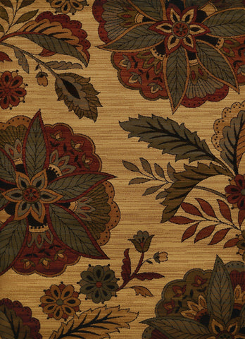 "Affinity Embroided Floral Multi Accent Rug 1'10"" x 3' Rugs United Weavers"