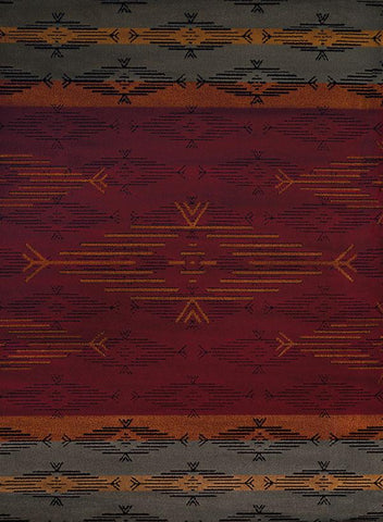Affinity Native Skye Red Rug - 4 Sizes Available Rugs United Weavers