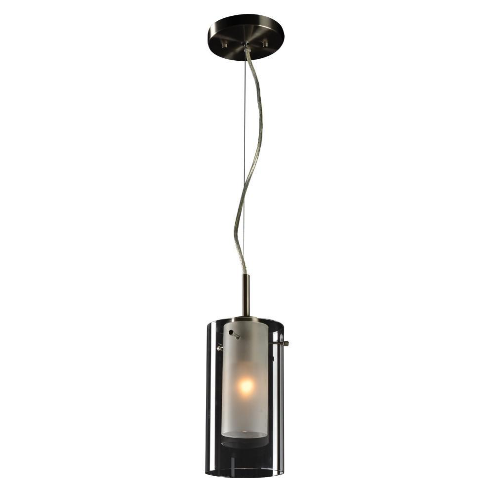 PLC Lighting 1-Light Mini Pendant Bling Collection Ceiling PLC Lighting
