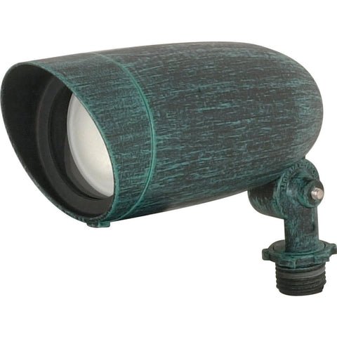 "6"" Landscape Flood PAR16 Flood Antique Verdi Finish Outdoor Nuvo Lighting"