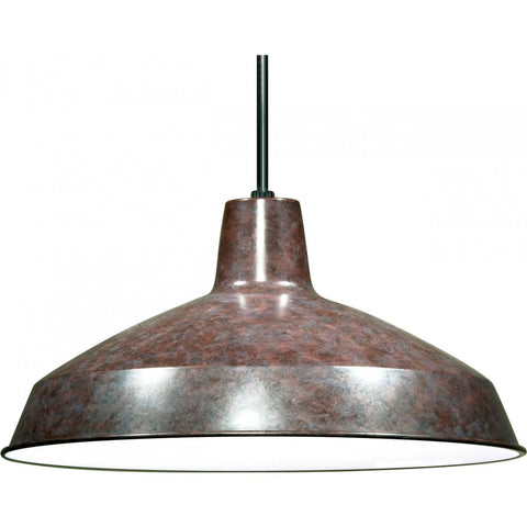 "16"" Pendant Warehouse Shade - Bronze"