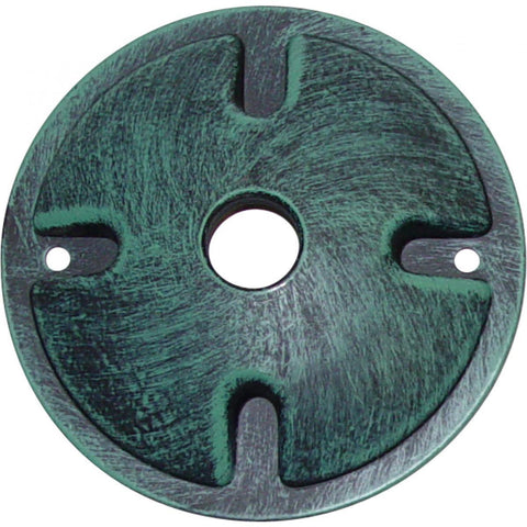 Nuvo Lighting Mounting Plate 1 Light Antique Verdigris Finish SF76/667