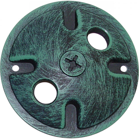 Nuvo Lighting Mounting Plate 2 Light Antique Verdigris Finish SF76/668