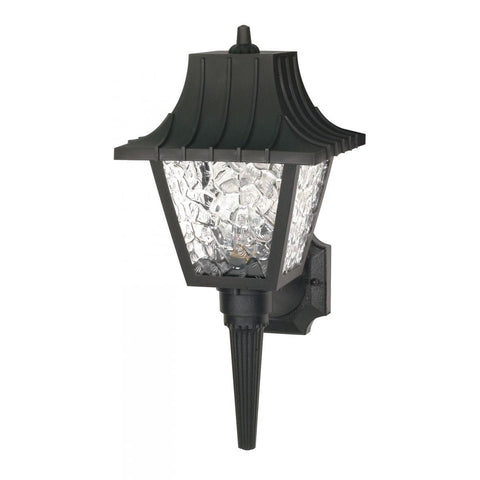 "Nuvo Lighting 1 Light 18"" Wall Lantern Mansard Lantern with Textured Acrylic Panels SF77/852"