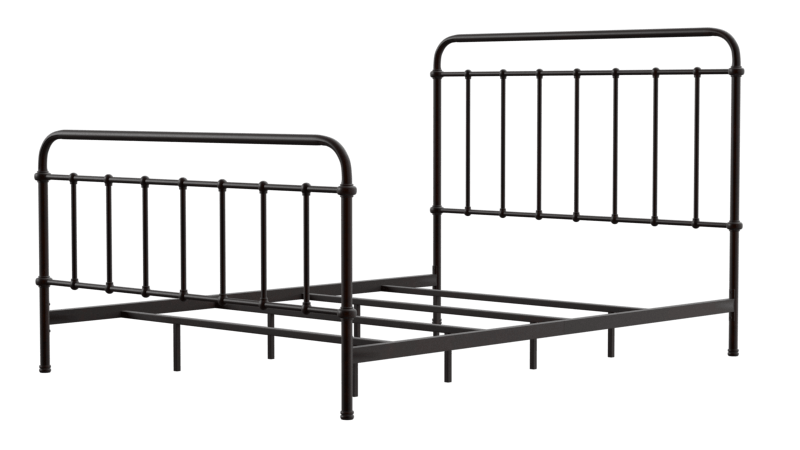 Dani Metal Bed Dark Bronze Furniture Enitial Lab