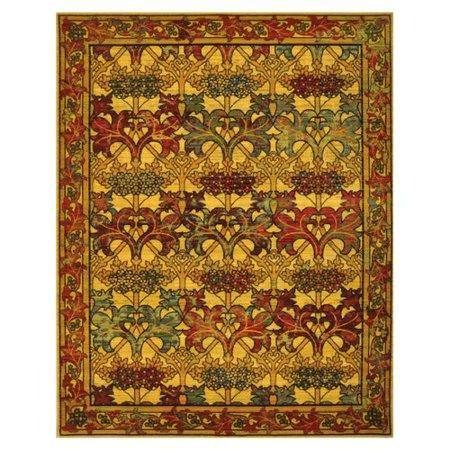 "Timeless Stained Glass Rug - 2 size Options Rugs Nourison 7'9"" x 9'9"" Lg Area"
