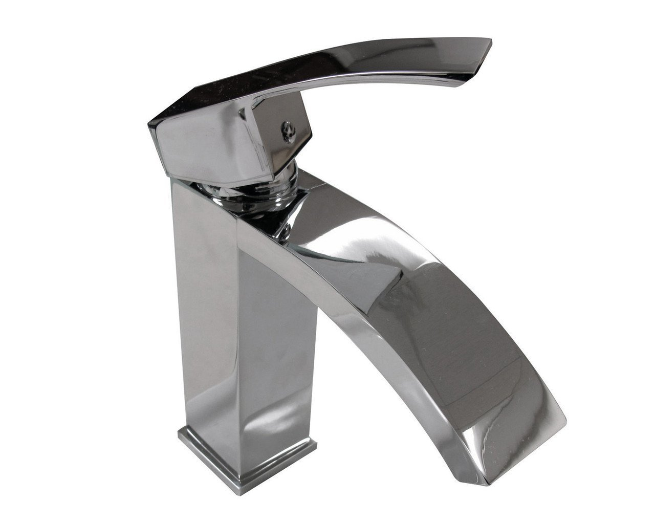 "Tuglea 7"" Single Handle Chrome Faucet Faucets MTD Vanities"