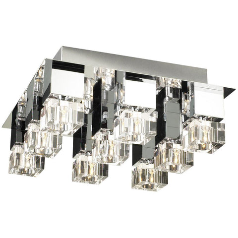 "Charme 21""w Flush Mount Ceiling Fixture Ceiling PLC Lighting"