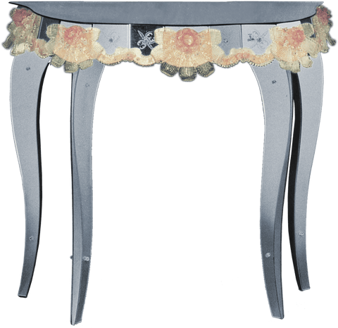 Arte di Murano Mirrored Console Table 84x36x83 CM
